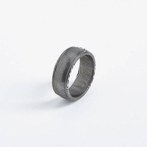 Small Ridge Pawn Unisex Ring