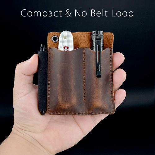 EDC Leather Pocket Orginizer