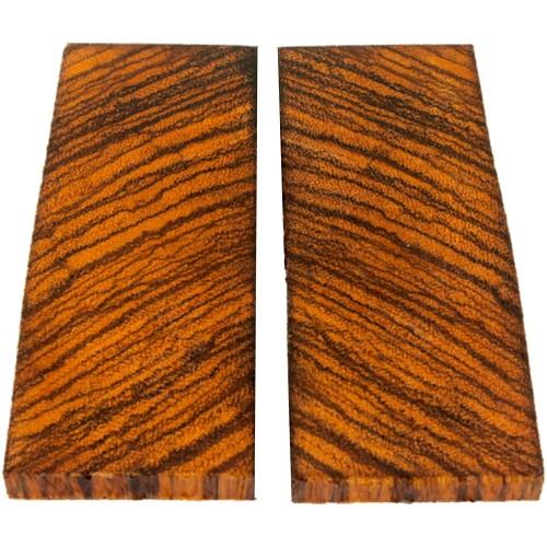 Zebra Wood Knife Scales