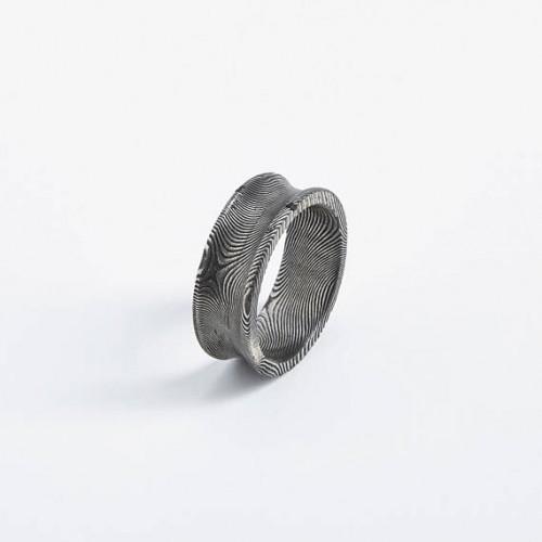 Square Bishop Unisex Ring