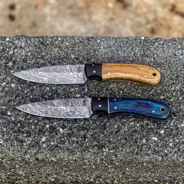 Damascus Hunting Pair