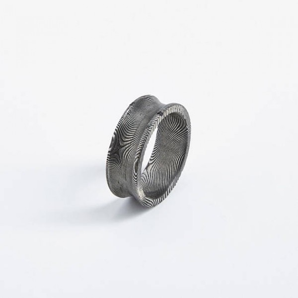 Square Bishop Unisex Ring