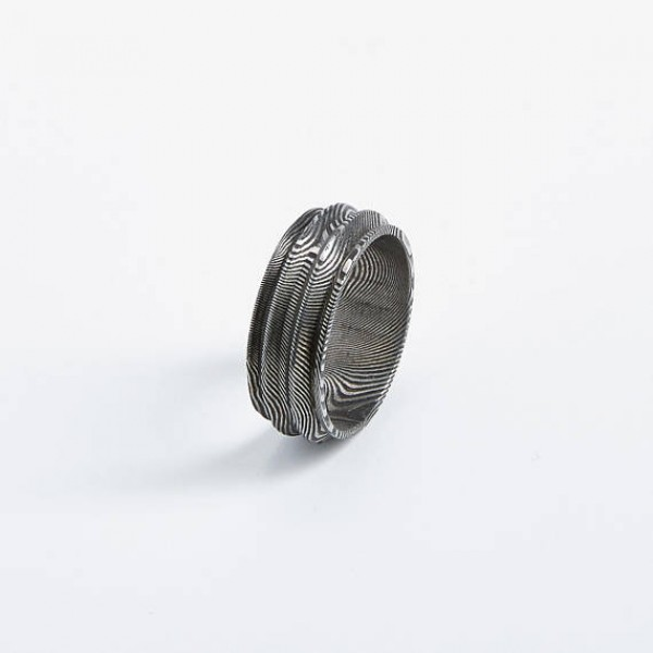 Ridge Rook Unisex Ring