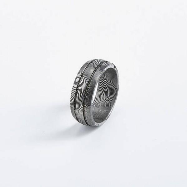 Track Bishop Unisex Ring