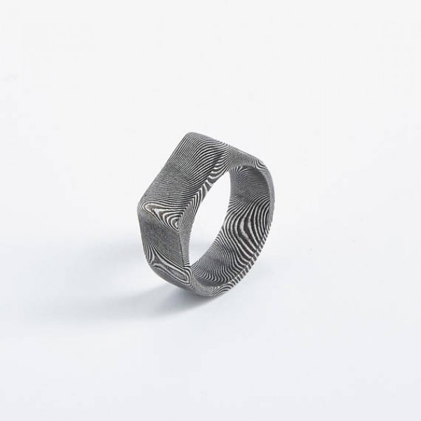 Flat Top King Unisex Ring